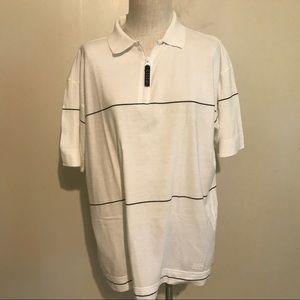 Nautica Competition men's vintage golf shirt Med